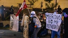 Peru's interim president steps down after deadly night of unrest