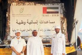 Ruler of Dubai's charity sends 13 tonnes of aid to Afghanistan