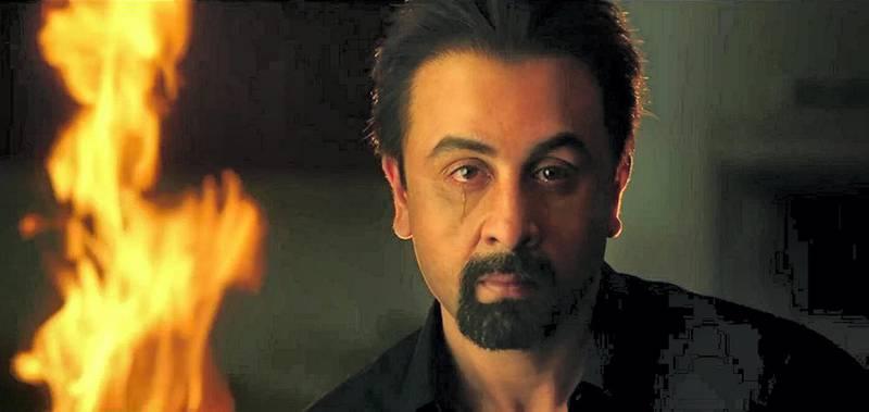 Ranbir Kapoor in Sanju (2018) Courtsey: Bilal kamaran