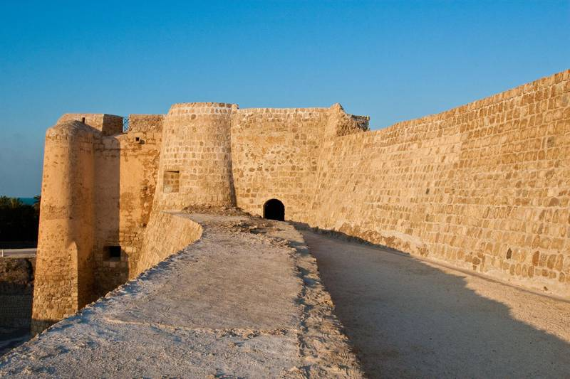 Qal'at al Bahrain is an archaeological site and historic fort. Getty Images