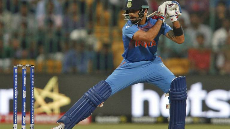 An image that illustrates this article Kohli to step down as India T20 captain after World Cup in UAE