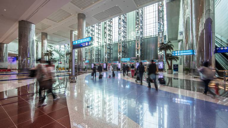 An image that illustrates this article Half-term: Emirates expects more than half a million travellers at Dubai Airport