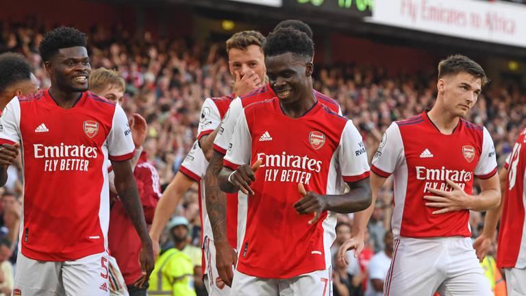 An image that illustrates this article Arsenal v Tottenham player ratings: Smith Rowe 8, Saka 9; Alli 4, Kane 6