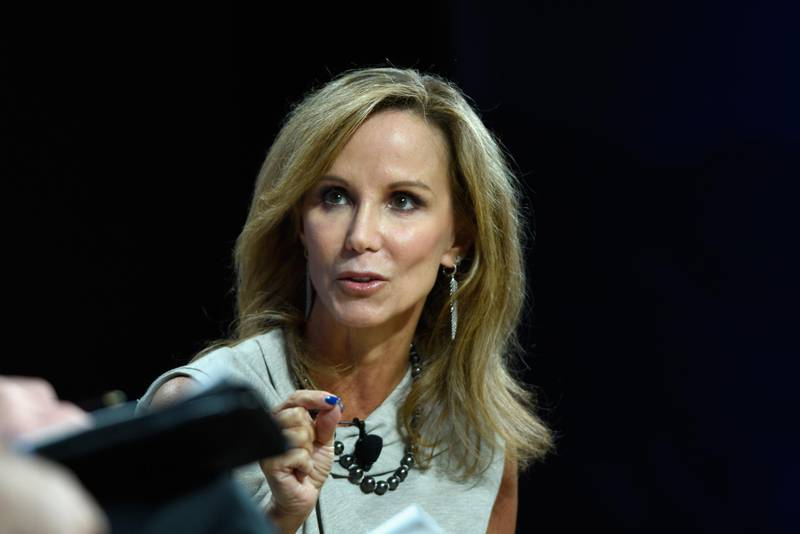 NEW YORK, NY - SEPTEMBER 18: Frances Fragos Townsend, National Security Analyst, CBS News speaks at The 2017 Concordia Annual Summit at Grand Hyatt New York on September 18, 2017 in New York City.   Riccardo Savi/Getty Images for Concordia Summit/AFP