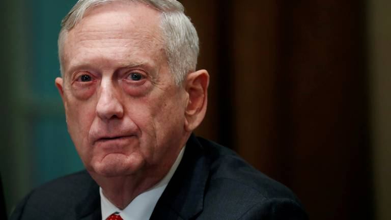 An image that illustrates this article Former US defence chief Mattis says he invested $85,000 in failed firm Theranos