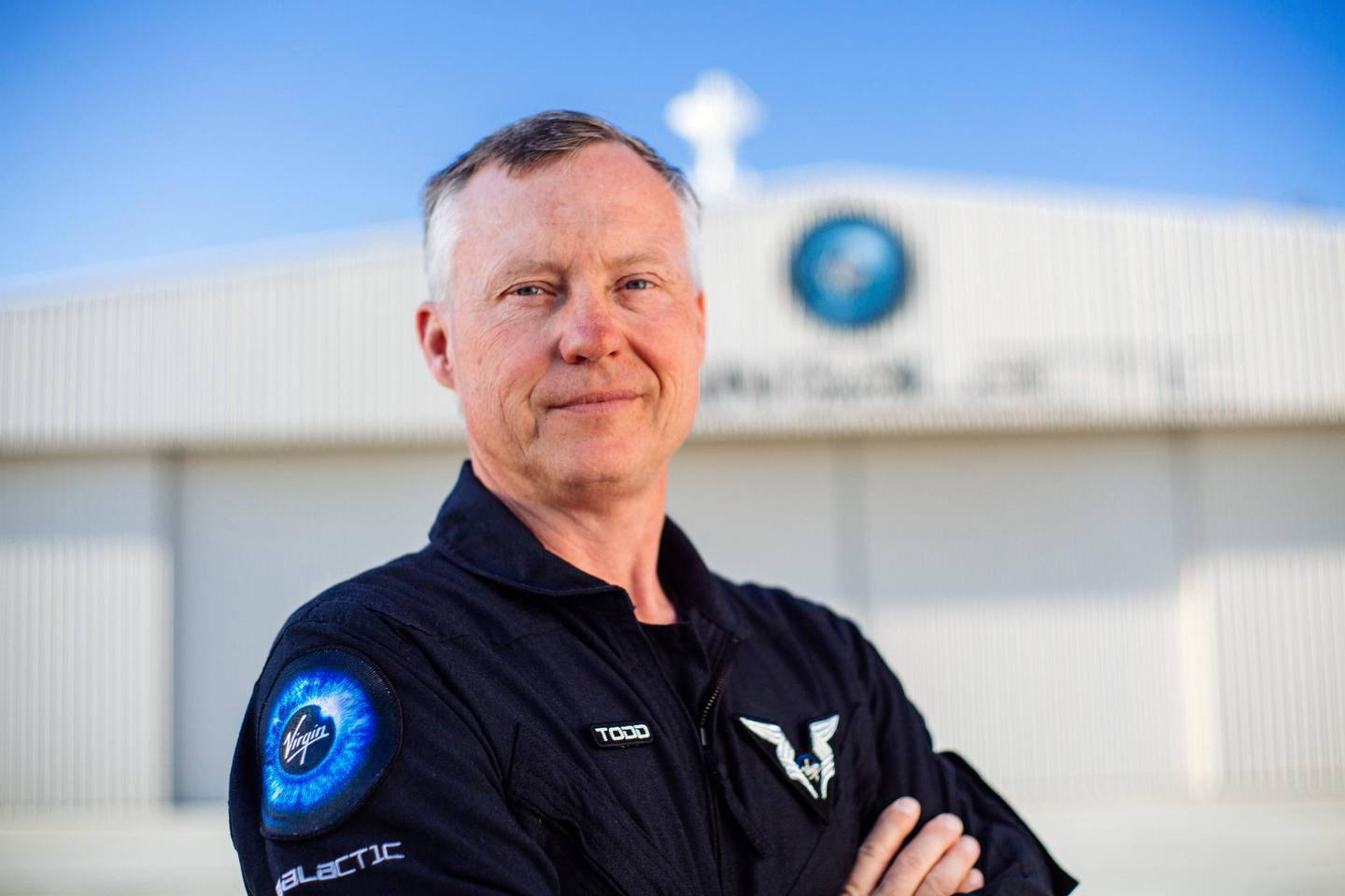 Virgin Galactic Pilot and Vice President of Safety and Test, Todd Ericson