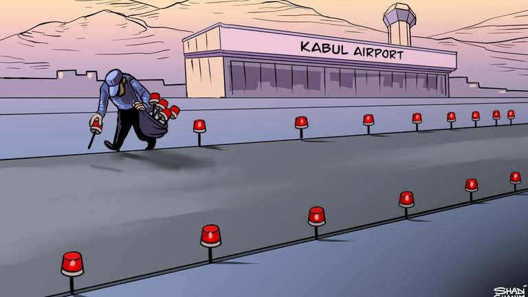 An image that illustrates this article Cartoon for September 13, 2021