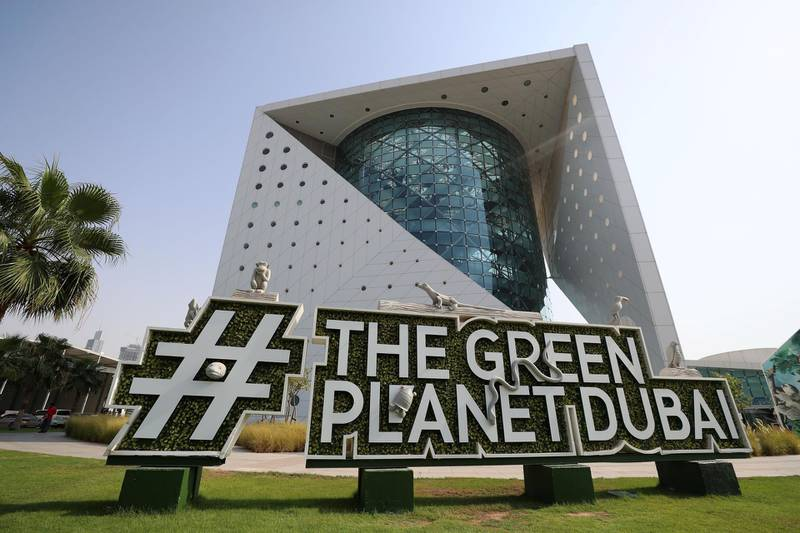 Dubai, United Arab Emirates - July 03, 2019: The Green Planet for Weekender. Wednesday the 3rd of July 2019. City Walk, Dubai. Chris Whiteoak / The National