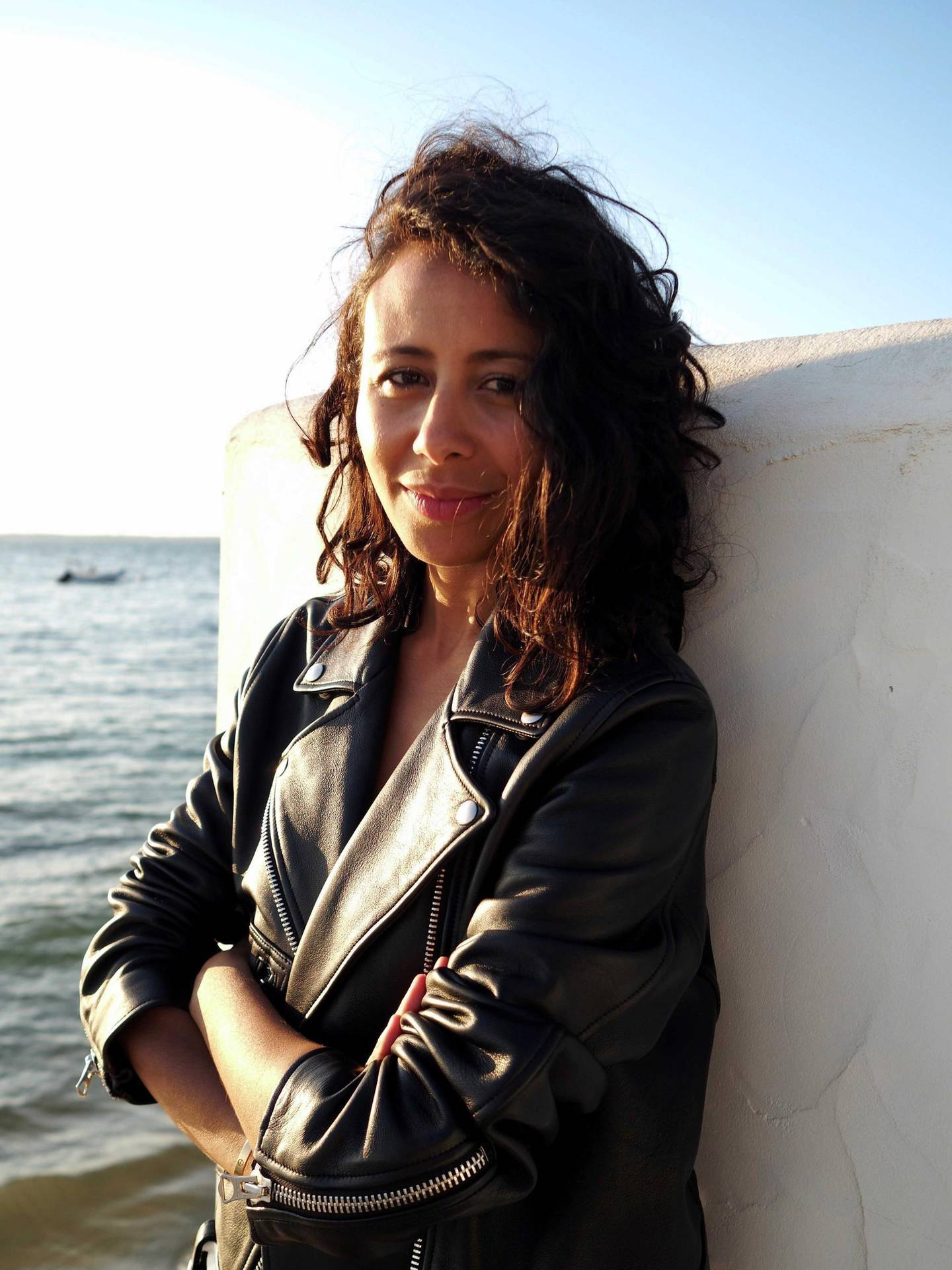 French-Tunisian writer-director Manele Labidi. Photo by Carole Bethuel