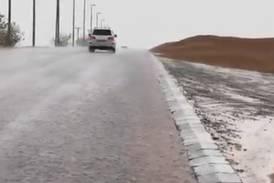 Sandstorm sweeps through Dubai as rain and thunder lash Al Ain