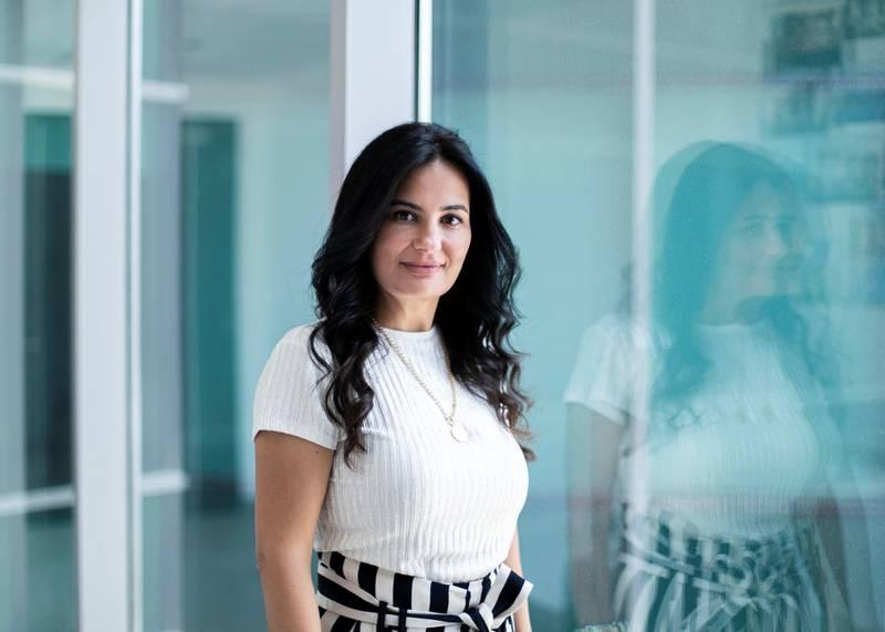 DUBAI, UNITED ARAB EMIRATES. 9 JULY 2020. Nisreen Kayyali, Managing Partner and Lead Architect ofNisreen Kayyali Consulting Engineers.(Photo: Reem Mohammed/The National)Reporter:Section: