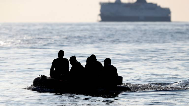 An image that illustrates this article Gang caught smuggling 69 Albanians on trawler to UK
