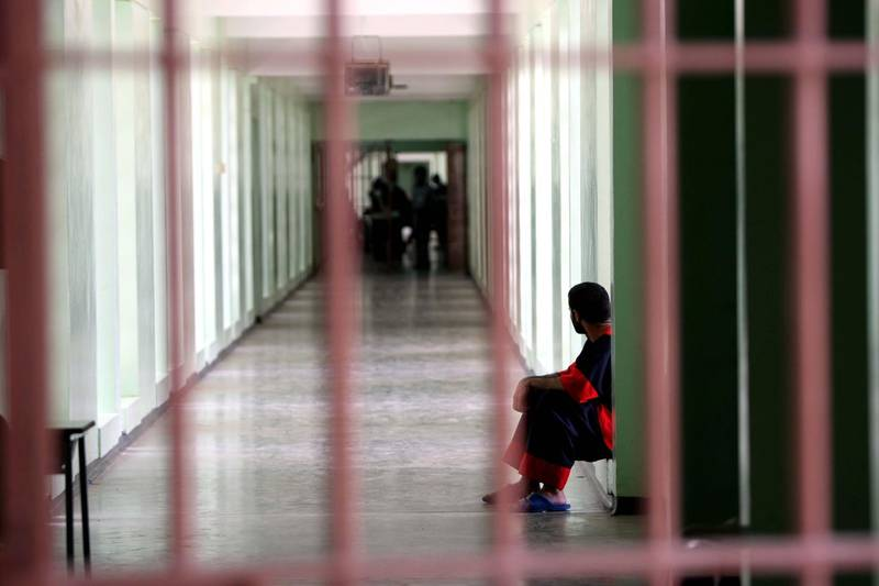 ABU DHABI. 23rd July 2008.Al Whaba prison scenes.FOR ARCHIVE. Stephen Lock  /  The National. *** Local Caption ***  SL-prison-018.jpgSL-prison-018.jpg