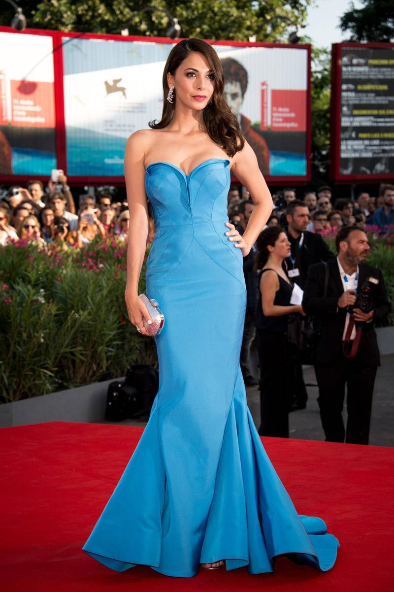 VENICE, ITALY - AUGUST 27:  Moran Atias  attends the 'Birdman' premiere during the 71st Venice Film Festival on August 27, 2014 in Venice, Italy.  (Photo by Ian Gavan/Getty Images)