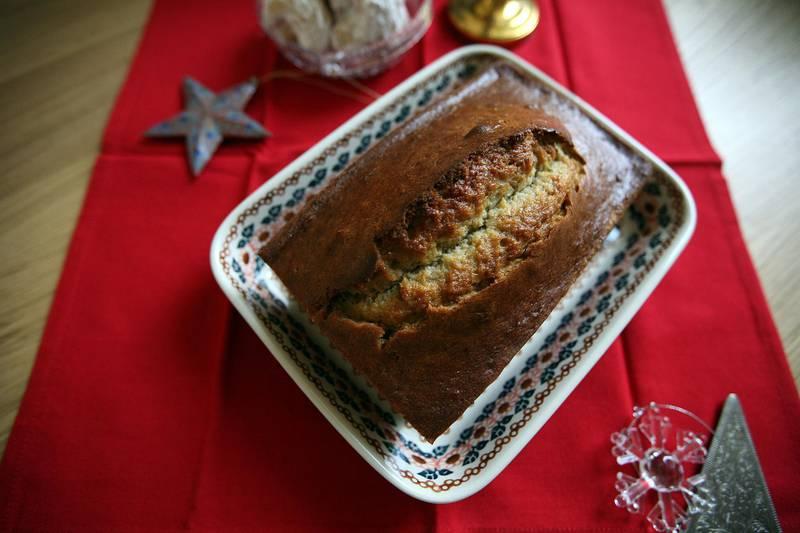 December 3, 2008 /Abu Dhabi / Christmas pastries December 3, 2008. Banana Bread (Sammy Dallal / The National)     *** Local Caption ***  sd-120308-FOOD06.jpgsd-120308-FOOD06_2.jpg