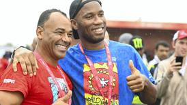 Drogba expresses himself through football at Special Olympics