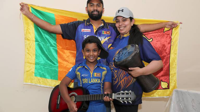 An image that illustrates this article Sri Lanka's papare bands allowed at T20 World Cup in Dubai
