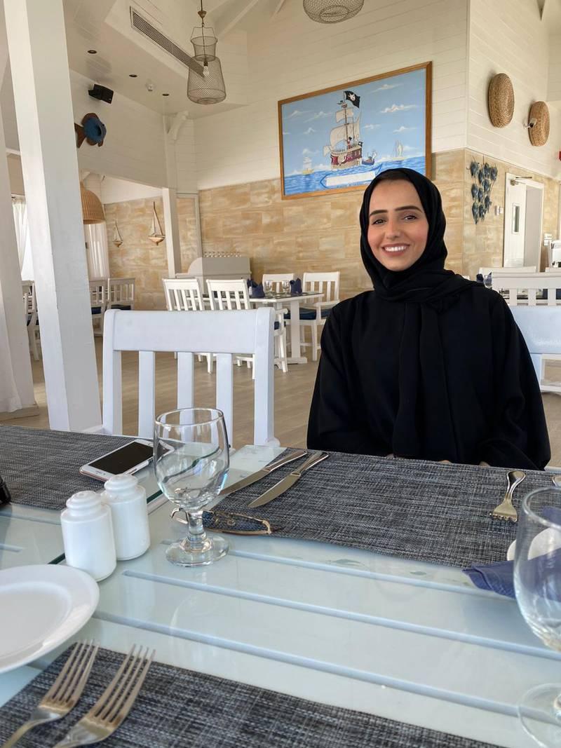 Laila Al Dhaheri. Courtesy Laila Al Dhaheri