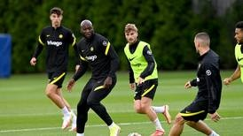 Romelu Lukaku trains with Chelsea and could start against Arsenal - in pictures