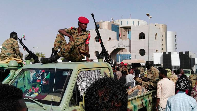 An image that illustrates this article Sudan's army puts everything on the line