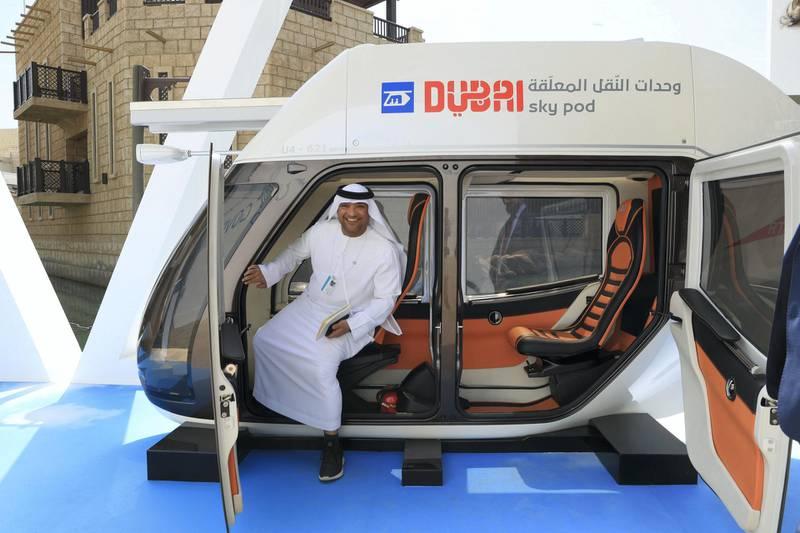 Dubai, U.A.E., February 10, 2019.  Dubai Sky Pod.Victor Besa/The NationalSection:  NAReporter:  Rupert Hawksley