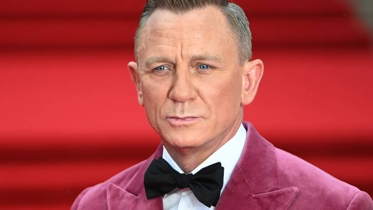An image that illustrates this article Stars and royalty attend James Bond No Time to Die London premiere