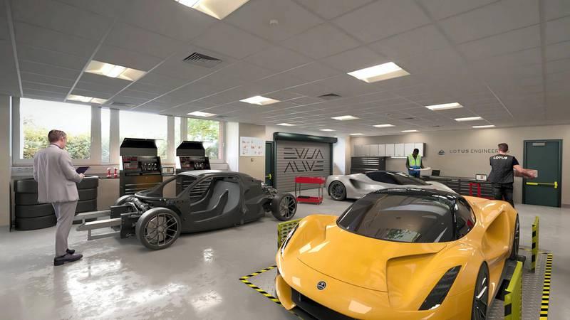 Wellesbourne campus  Workshop. courtesy: Lotus