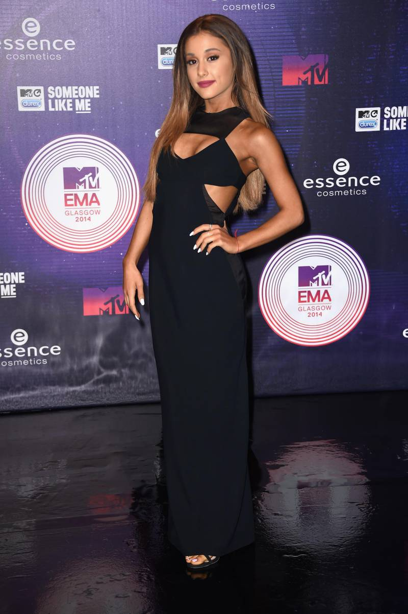 GLASGOW, SCOTLAND - NOVEMBER 09:  Ariana Grande attends the MTV EMA's 2014 at The Hydro on November 9, 2014 in Glasgow, Scotland.  (Photo by Ian Gavan/Getty Images for MTV)