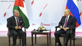 Jordan's King Abdullah discusses 'normalisation' of Syria situation with President Putin