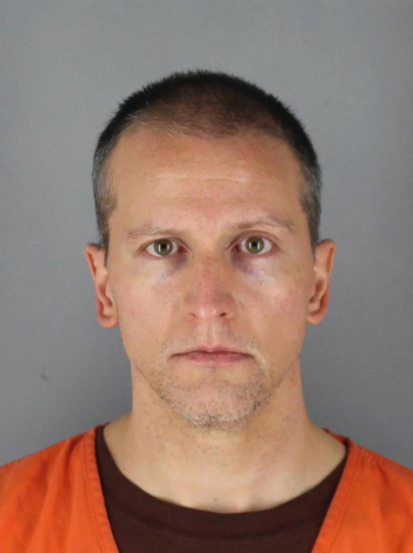 This May 31, 2020 photo provided by the Hennepin County Sheriff shows Derek Chauvin, who was arrested Friday, May 29, in the Memorial Day death of George Floyd. Chauvin was charged with third-degree murder and second-degree manslaughter after a shocking video of him kneeling for several minutes on the neck of Floyd, a black man, set off a wave of protests across the country. (Hennepin County Sheriff via AP)