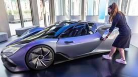 Expo 2020 Dubai: Slovakia's hydrogen-powered concept car unveiled