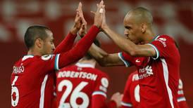Liverpool v Southampton player ratings: Mohamed Salah 7, Fabinho 8; Che Adams 4, Theo Walcott 3