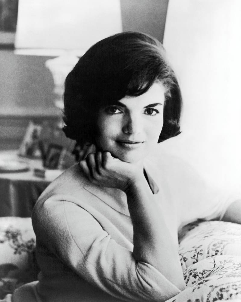 First official White House photograph of US First Lady Jaqueline Kennedy, Washington DC, 1961. (Photo by Mark Shaw/Underwood Archives/Getty Images)