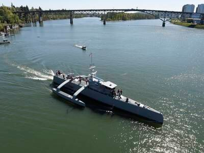 Unmanned surface vessel - in pictures