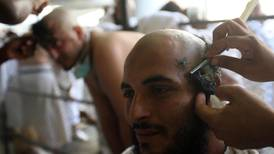 Hajj pilgrims shave their heads after stoning ritual