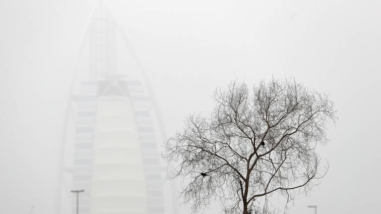 An image that illustrates this article UAE weather: dusty, fair and cloudy