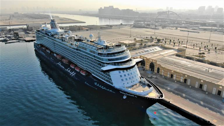 An image that illustrates this article 2021-2022 cruise season in Dubai kicks off - in pictures