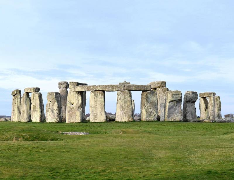 """AMESBURY, ENGLAND - MARCH 20: A deserted closed Stonehenge on March 20, 2020 in Amesbury, United Kingdom. English Heritage, which manages the site said, """"Our first priority is the health and wellbeing of all visitors, volunteers and staff, and we hope you can understand why we have taken this unprecedented step,"""" it said. """"We appreciate this is a very important time for druids, pagans and other spiritual people and hope you will still be able to celebrate the spring equinox in your own special way."""" English Heritage said it would """"continue to plan for the summer solstice in the hope it will still take place"""". (Photo by Finnbarr Webster/Getty Images)"""