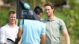 Thomas Pieters builds on UAE promise with strong start to Saudi International