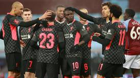 Liverpool survive an FA Cup step into the unknown against Covid-ravaged Aston Villa - in pictures