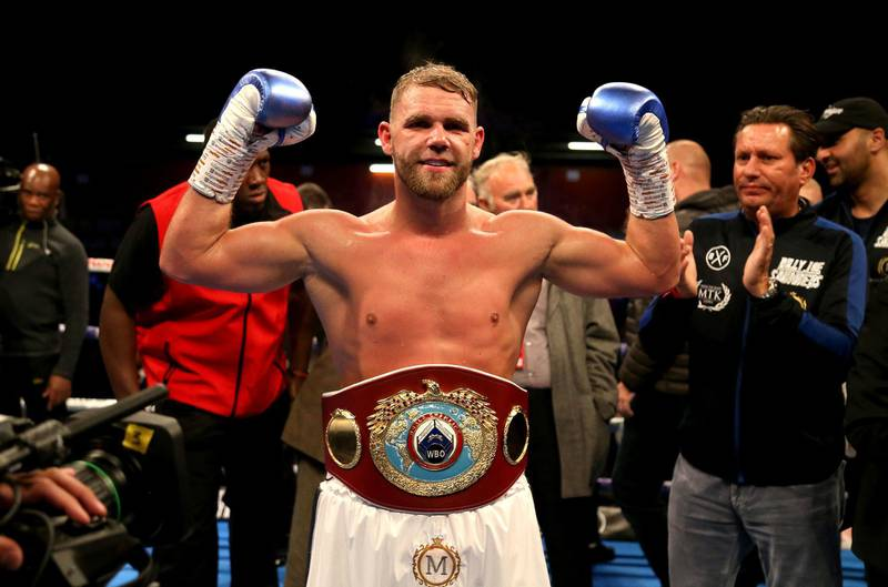 File photo dated 18-05-2019 of Billy Joe Saunders PA Photo. Issue date: Wednesday March 18, 2020. Eddie Hearn expects Billy Joe Saunders' blockbuster showdown against Saul 'Canelo' Alvarez to go ahead provided the coronavirus pandemic does not eat into the summer schedule. See PA story SPORT Coronavirus. Photo credit should read Paul Harding/PA Wire.