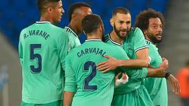 Zinedine Zidane 'annoyed' as Real Madrid replace Barcelona atop La Liga after win at Real Sociedad
