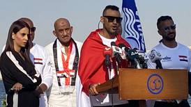 Egyptian monofin swimmer fails in New Suez Canal Guinness World Record attempt