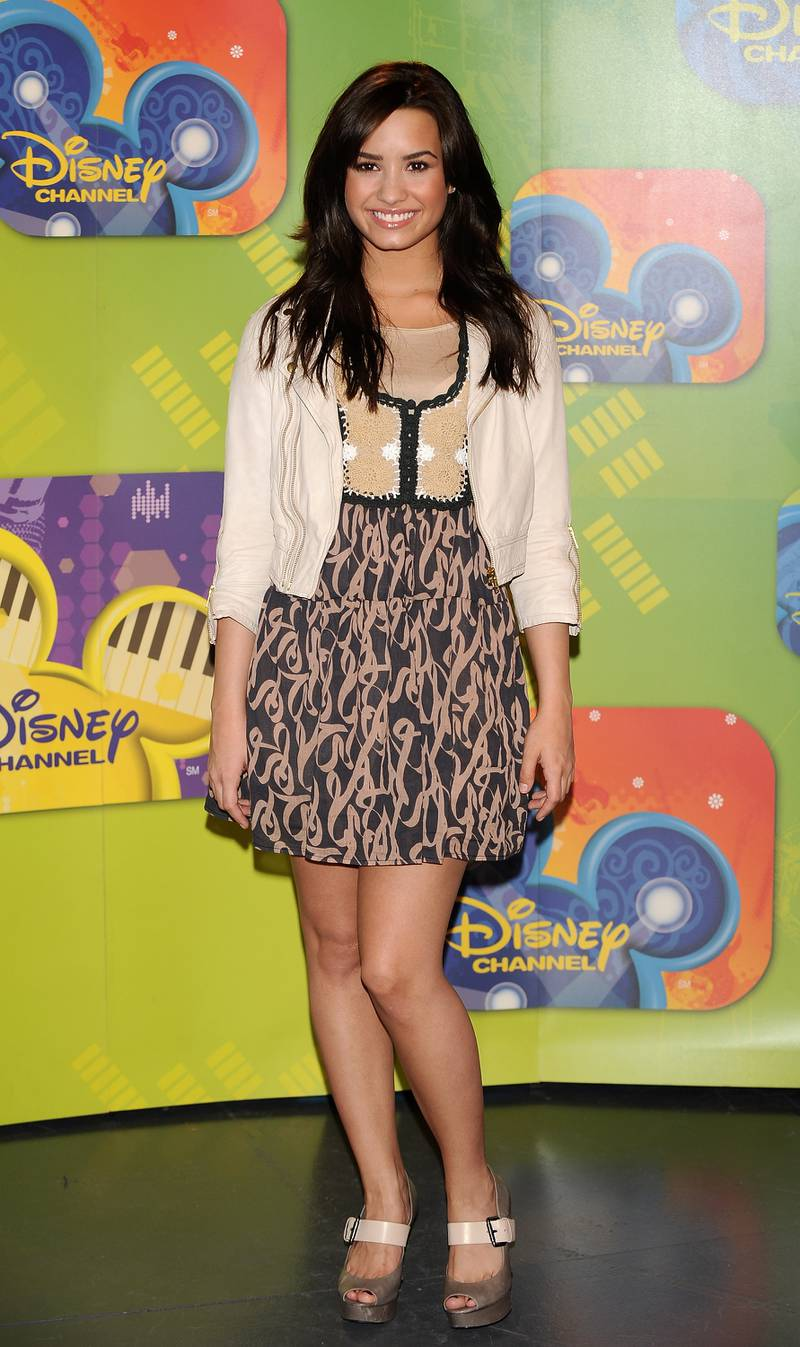 MADRID, SPAIN - APRIL 20:  Actress Demi Lovato attends new Disney TV & Music Season photocall at the Disney Channel building on April 20, 2009 in Madrid, Spain.  (Photo by Carlos Alvarez/Getty Images)