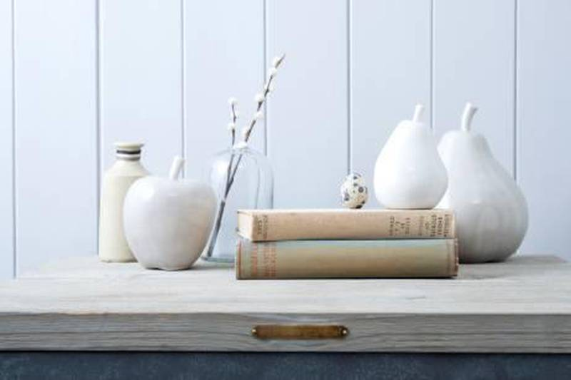 A handout photo of Ceramic apples and pears (Courtesy: Rowen and Wren)