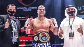 UAE's Ilyass Habibali wins muaythai title and spot at 2022 World Games