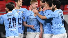 Manchester City stroll into Champions League last eight and Pep Guardiola warns: Now forget about it