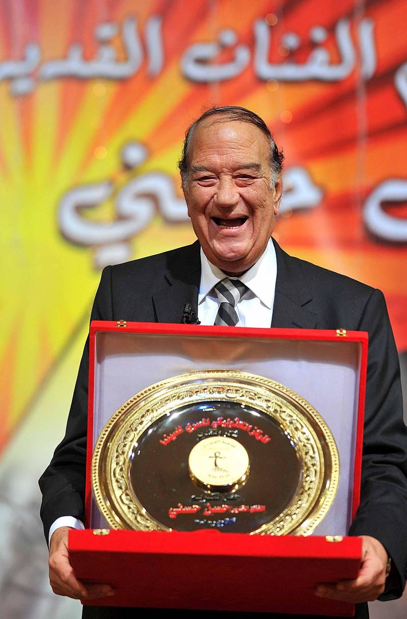 Mandatory Credit: Photo by Mohamed Omar/EPA/Shutterstock (7708352i)Egyptian Actor Hassan Hosny Poses During an Event Held to Honour His Career Achievements at the Nile Hall of the Catholic Center Cairo Egypt 22 October 2010 Every One Or Two Months an Evening is Held at the Nile Hall to Honour Various Artists For Their Works in Different Fields of Arts Egypt CairoEgypt Cinema - Oct 2010