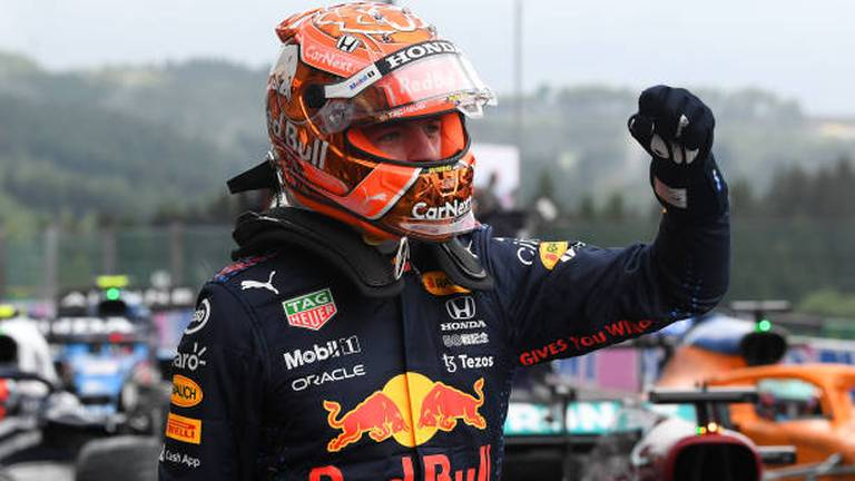 An image that illustrates this article Verstappen claims pole for Belgian Grand Prix as Hamilton qualifies third
