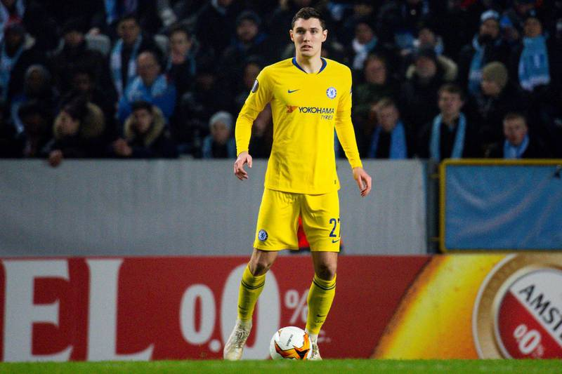 FILE PHOTO: 190214 Andreas  Christensen of Chelsea during the Europa league match between Malm FF and Chelsea on February 14, 2019 in Malm. Photo: Ludvig Thunman / BILDBYRÅN / kod LT/File Photo